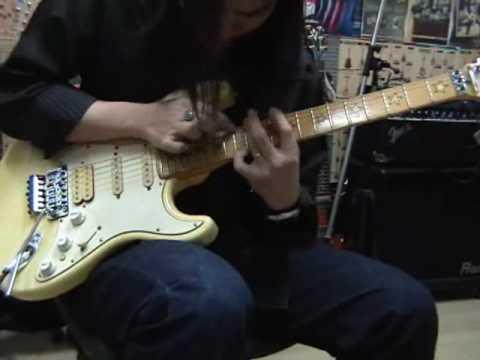Chatreeo Shred Fender Richie Sambora Signature Guitar