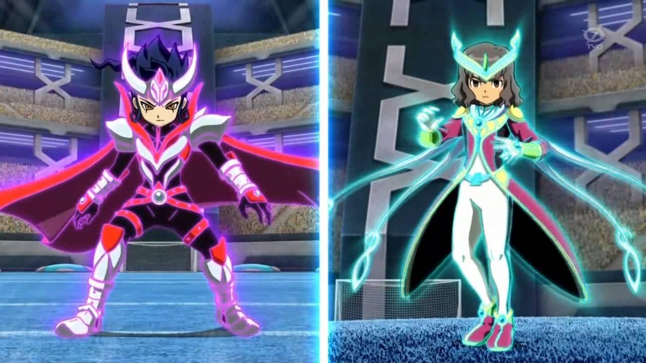 Inazuma eleven go chrono stone makaiou zodiak armure vs - Inazuma eleven go victor ...