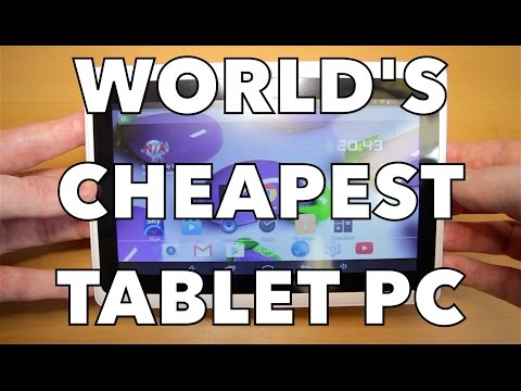 """REVIEW of WORLD'S CHEAPEST TABLET PC - $30 Q88H 7"""" ANDROID TABLET"""