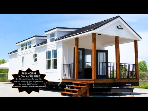 Amazing Stunning THE ZION Park Model For Sale By Mustard Seed Tiny Homes | Tiny House Big Living