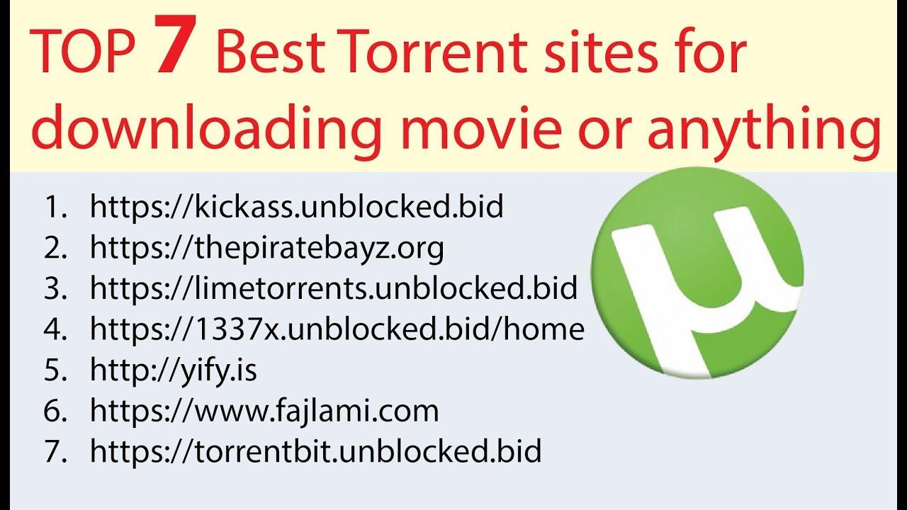 best torrent sites to download movies