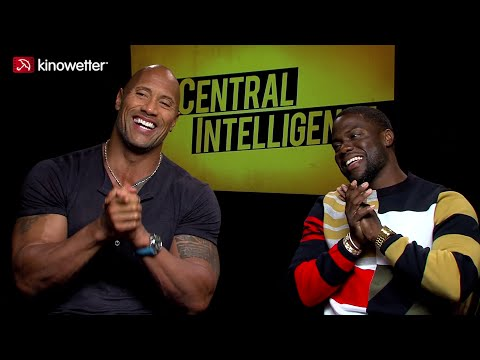Interview Dwayne Johnson & Kevin Hart CENTRAL INTELLIGENCE