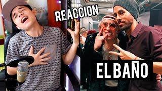 Enrique Iglesias - EL BAÑO ft. Bad Bunny El Conejo Malo Reaccion !