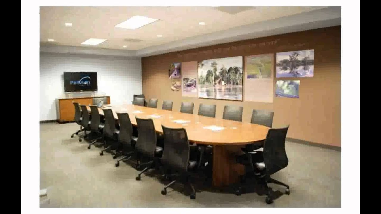 Conference Room Decor - YouTube