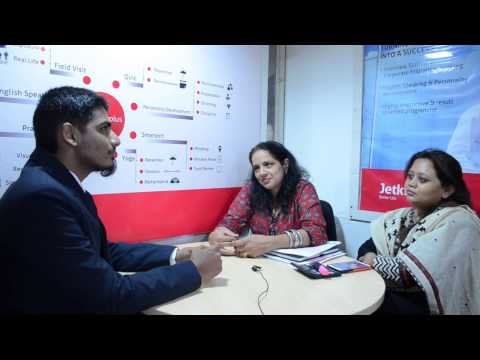 Jetking student gives a testimonial on networking course