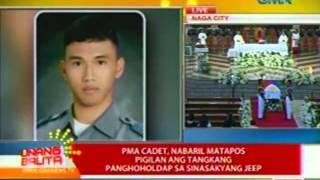 UB: PMA cadet, nabaril matapos pigilan ang tangkang panghoholdap sa sinasakyang jeep