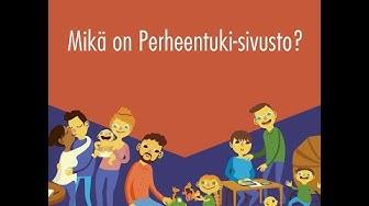 hel.fi/perheentuki -sivuston esittely