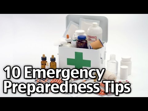 10 Emergency Preparedness Tips