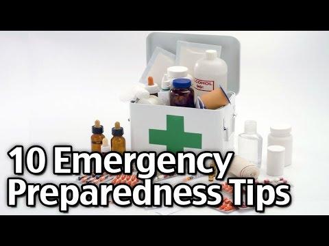 10 Emergency Preparedness Tips