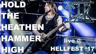 Смотреть клип Týr - Hold The Heathen Hammer High