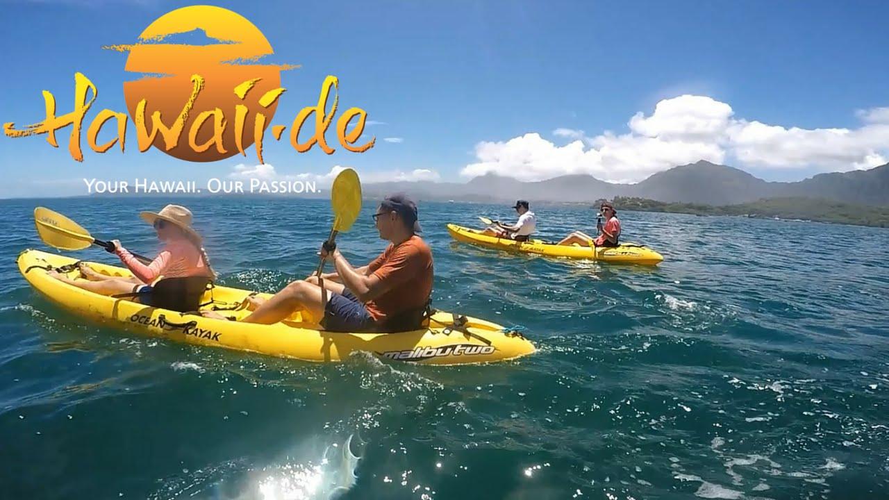 Hawaii's best adventures / kayaking to sunken islands