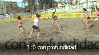 La defensa en balonmano playa | Beach Handball Defense (ES + EN subs.)