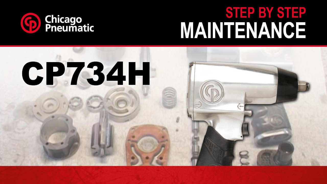 Cp734h Impact Wrench Tool Maintenance Demo