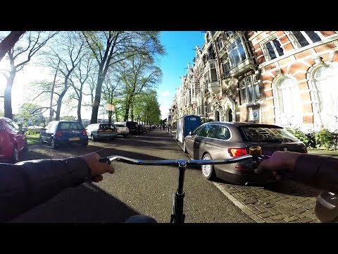 Cycling in Summer (From Campus Uilenstede to Old Amsterdam )