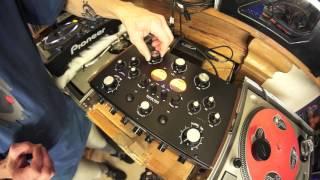 SUPER STEREO DN78 ROTARY  DJ MIXER