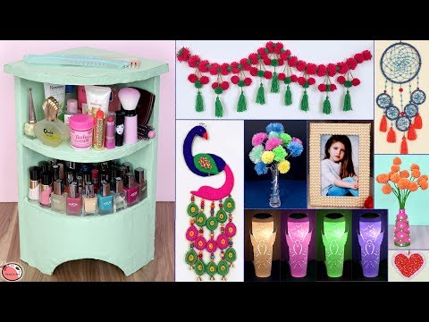 10 Easy... DIY Room Decor & Organizer || UseFull Best Out Of Waste 2019 !!!