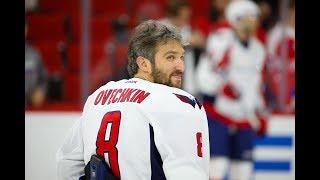Alexander Ovechkin OT Goal (10) vs Red Wings