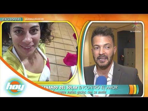 ¡Fernando del Solar nos presenta a su novia! | Hoy