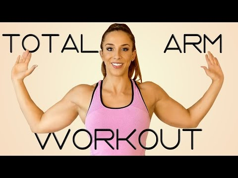 How to Lose Arm Fat | 20 Minute Tone Arms & Abs Workout Challenge! Beginners Home Fitness