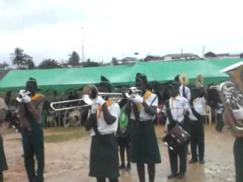 South West Ghana Conference S D A Church  Daboase district youth band dedication 2