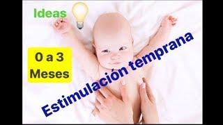 Ideas de estimulación para niños de 0 a 3 meses 😇 / Desarrollo del bebé 🍼