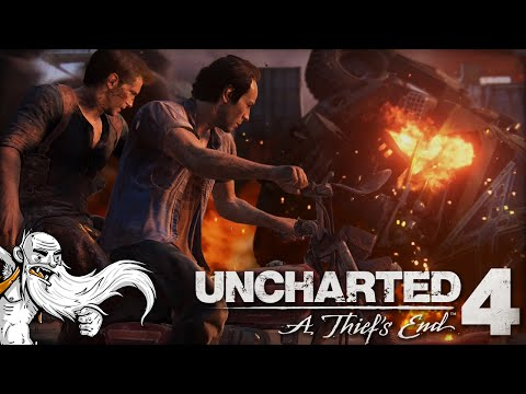 """THE MOST RAD CAR CHASE SCENE EVER!!!"" Uncharted 4 Ep 11 1080p HD PS4 Gameplay Walkthrough"