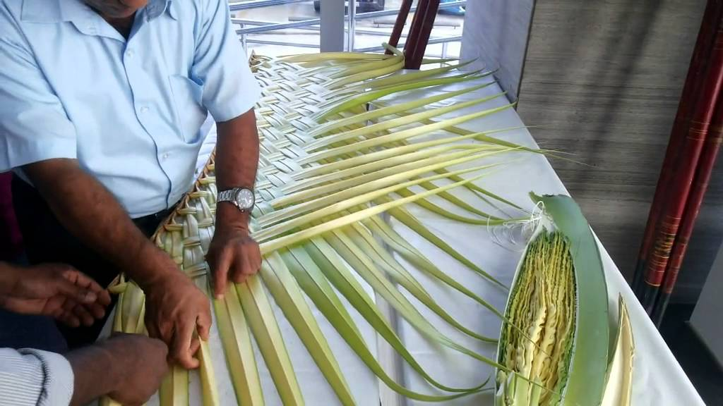 Palm Leaf Decoration Youtube