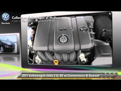 2011 Volkswagen Jetta 2.5L SE w/Convenience & Sunroof