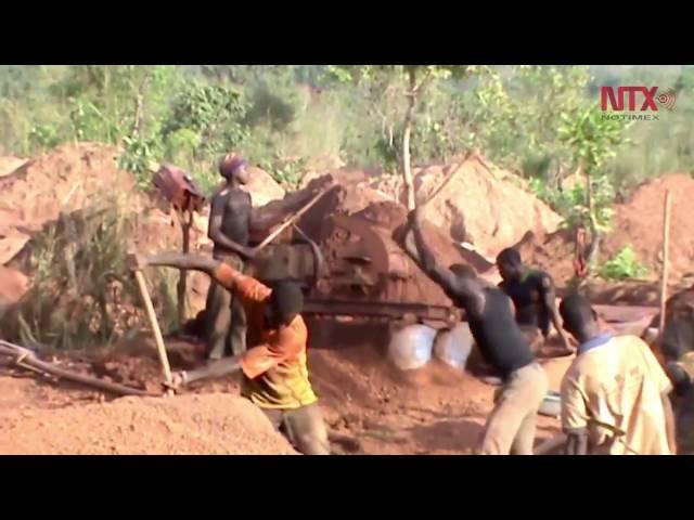La nueva fiebre del oro que invade África