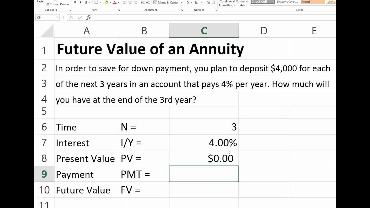 FV of Growing Annuity Calculator