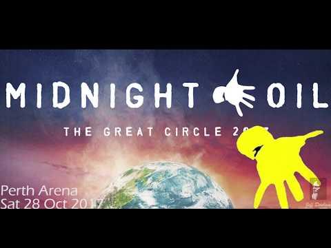 Midnight Oil in concert in Perth Western Australia