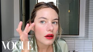 Camille Rowe's Guide to Effortless French Girl Beauty | Beauty Secrets | Vogue