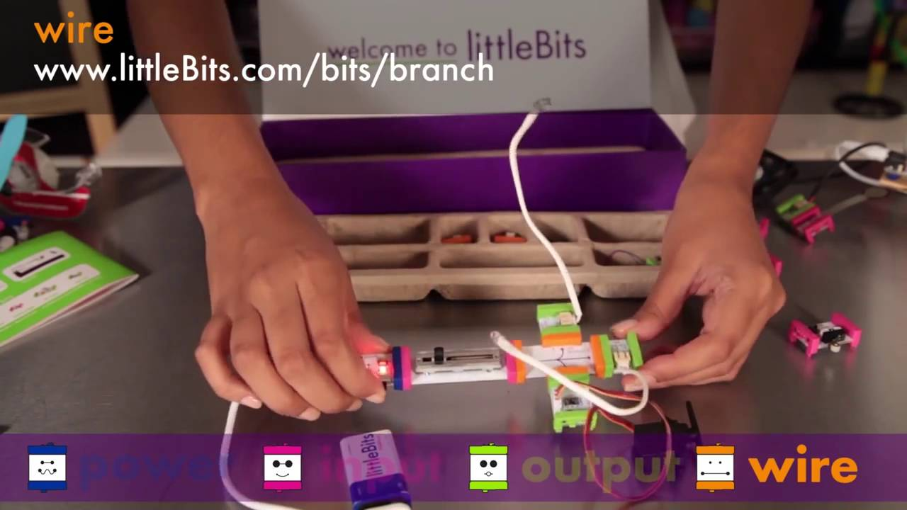 Littlebits Base Kit Makes Learning About Electronic Circuits A Snap