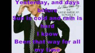 Rod Stewart- Have You Ever Seen The Rain? (with lyrics)