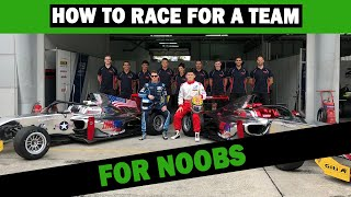 How To Race For A Team, For Noobs - Enzo Mucci TRDC Show S4 E29