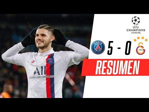 PSG - Galatasaray [5-0]   GOLES   Grupo A   UEFA Champions League