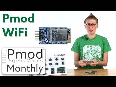 Pmod Monthly - November 2016 - Adding WiFi to your Digilent FPGA or