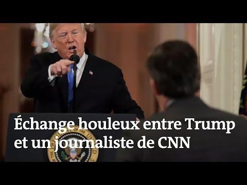 Midterms : échange houleux entre Trump et un journaliste de CNN