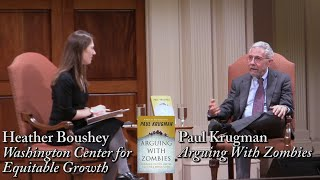 """Paul Krugman, """"Arguing With Zombies"""""""
