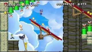 New Super Mario Bros. U (Update#3) Challenge Mode, New Screens, Bowser Jr. Returns!