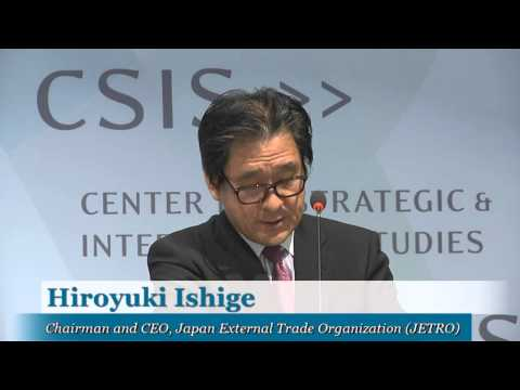 Asia-Pacific Economic Integration and the Role of the United States and Japan; JETRO CEO