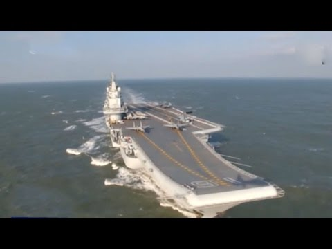 China's Liaoning carrier crosses Taiwan Strait on way to drills