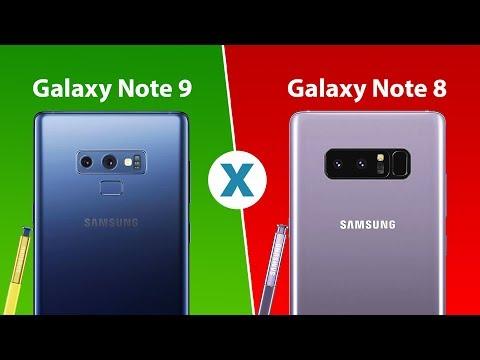 Samsung Galaxy Note 9 vs Samsung Galaxy Note 8 - Comparativo Tecnoblog
