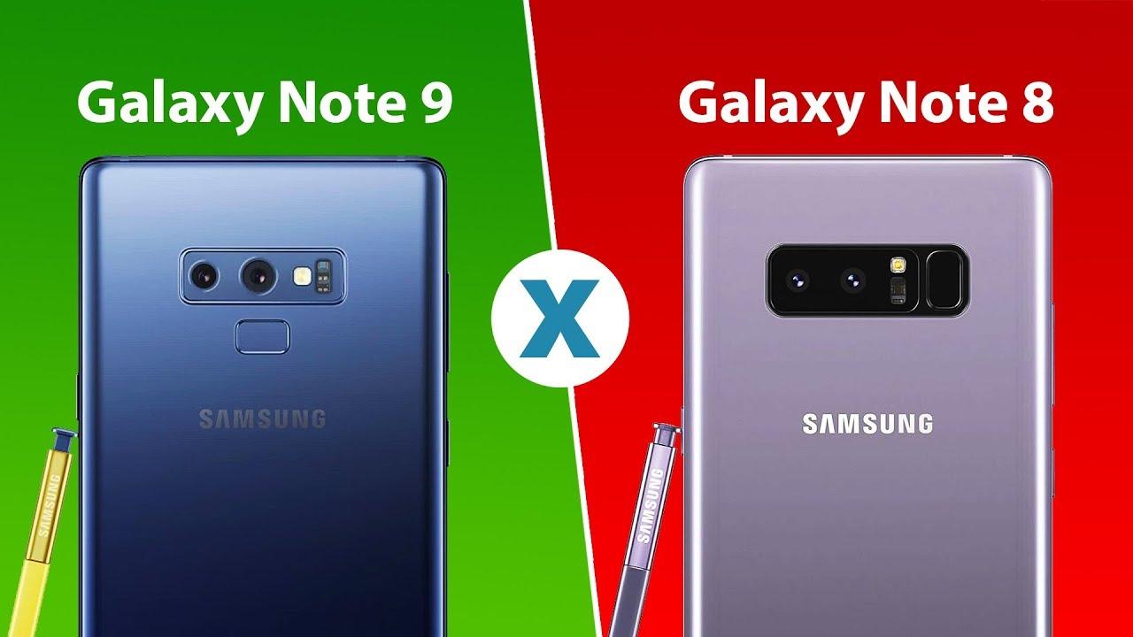 Qual a diferença entre o Galaxy Note 9 e o Galaxy Note 8? –