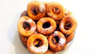 Как приготовить Пончики кокосовые воздушные из дрожжевого теста видео рецепт