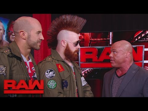 Sheamus & Cesaro get their rematch: Raw, Jan. 8, 2018