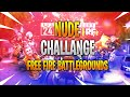 Nude challange Free fire battlegrounds