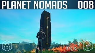 PLANET NOMADS #008 | Das außerirdische Monument | Let's Play Gameplay Deutsch thumbnail