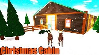 Christmas Cabin Speedbuild • Roblox: Bloxburg • 97K
