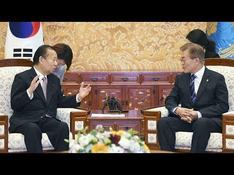 South Korean President Moon warns Japan over sex slavery issue
